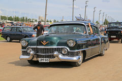 Classic Cadillac Series 62 in a Show Stock Images