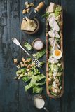 Classic Caesar salad Stock Photography
