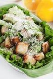 Classic caesar salad Stock Photos