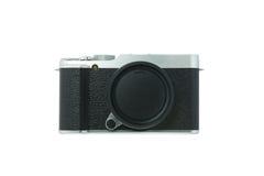 Classic camera on white background Stock Image