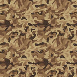 Classic Camouflage_Desert. Seamless  camouflage pattern in desert colors. .eps contains four tiles of the pattern Stock Photos