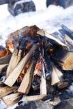 Classic Campfire Stock Image