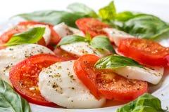 Classic Caprese Salad Royalty Free Stock Photos