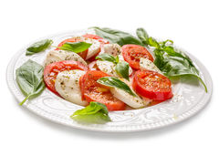 Classic Caprese Salad Stock Image