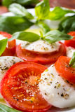 Classic Caprese Salad Royalty Free Stock Images