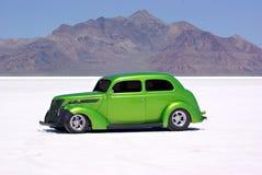 Classic Car. An old classic car on the Bonneville Salt Flats Stock Photography
