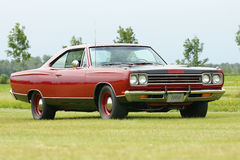 Classic car. Picture of the 1969 plymouth hemi gtx Royalty Free Stock Photos