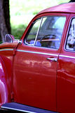 Classic car. Door and windows of classic car Royalty Free Stock Image