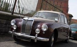 Classic car. Classic British sports saloon from 1950's Stock Images