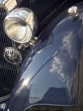 Classic car. Closeup Royalty Free Stock Photos
