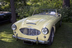 Classic car Austin-Healey 100-6 royalty free stock photography