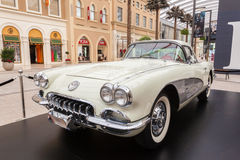 Classic car in The Avenues Mall, Kuwait Stock Photos