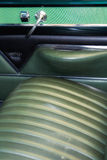Classic car back seat Stock Photos