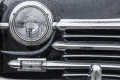 Classic car background Stock Image