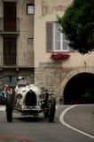 Classic car at Bergamo Historic Grand Prix 2015 Royalty Free Stock Images