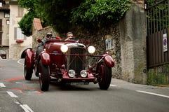 Classic car at Bergamo Historic Grand Prix 2015 Royalty Free Stock Photos
