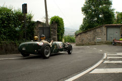 Classic car at Bergamo Historic Grand Prix 2015 Stock Photos