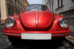 Classic car in Budapest Royalty Free Stock Photography
