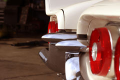 Classic Car Bumper Stock Photo
