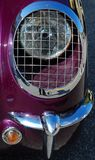 Classic Car Caged Headlight Stock Photo