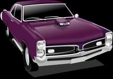 Classic Car, Car, Vintage, Purple Stock Images