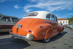 Classic car, 1941 chevrolet sedan Royalty Free Stock Photo