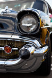 Classic Car Chrome Stock Photo