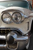 Classic Car chrome headlamp Royalty Free Stock Images