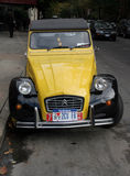 Classic car  Citroën 2cv. New York,USA-october 24,2007:The 2CV  is a car from the French automaker Citroën Royalty Free Stock Photos