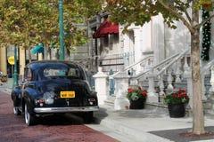 Classic car classic setting Stock Photo
