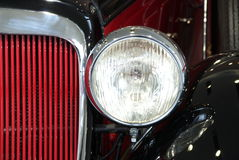 Classic car close-up Stock Photo