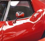 Classic Car. Close-up classic red american car Stock Photo