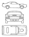 Classic Car Collection vector illustration