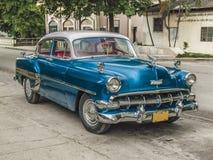Classic car in Cuba Stock Images
