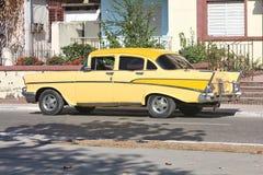 Classic car in Cuba Stock Photos