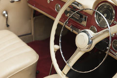Classic car - Dash board Royalty Free Stock Photo