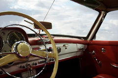 Classic Car Dashboard Stock Photos