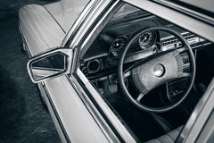 Classic Car Dashboard Royalty Free Stock Photos