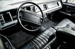 Classic Car Dashboard Stock Images