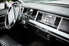 Classic Car Dashboard Stock Image