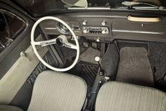 Classic car dashboard Royalty Free Stock Photos