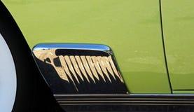 Classic Car Design Closeup Stock Images