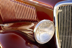 Classic Car Detail Royalty Free Stock Photo