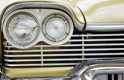 Classic Car Detail Stock Photography