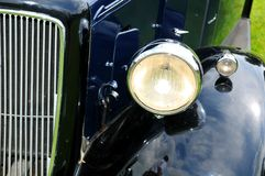 Classic car detail Stock Photos