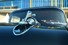 Classic car (Detail bonnet) Royalty Free Stock Photography