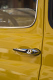Classic car detail Stock Photo