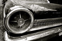 Classic Car Details Royalty Free Stock Photos