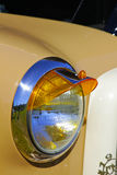Classic Car details. Classic car show, American muscle cars and close ups of the detailed art work Stock Image