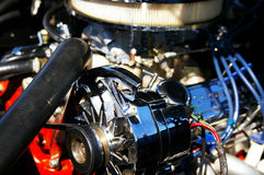 Classic car engine Royalty Free Stock Images